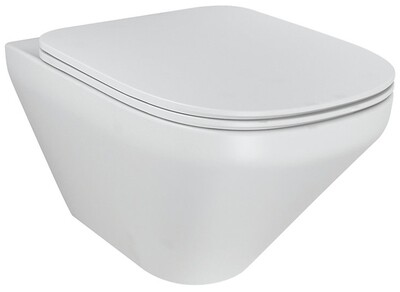KOHLER Modern Life Wall Hung WC White With Quiet Close UF Seat & Cover