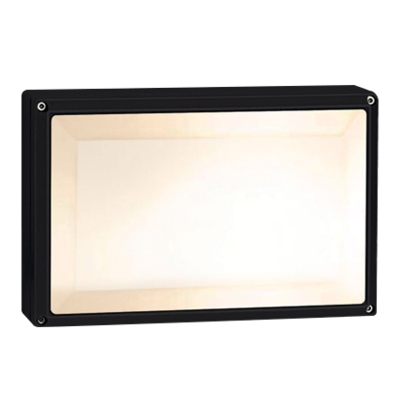 ONE-LIGHT: The Square E27 Outdoor Plafo Die cast IP54 *