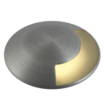 ONE-LIGHT: LED Inground Mini Series, One Way Light, Natural Aluminium, 1W Warm White, IP67