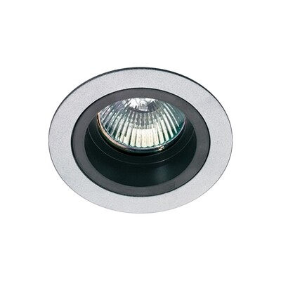 ONOK: 181 Tecnoluce Spot Light Gu10 Aluminium P/Black IP20 *