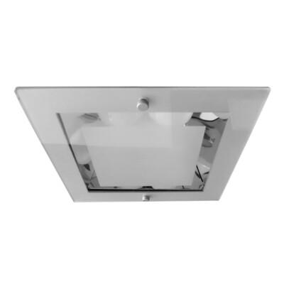 ONOK: 2 x 26W G 24-d3 Down Light Aluminium IP33 *