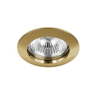 ONOK: 131 Tecnoluce Spot Light Gold 24K GU 10 IP23 *