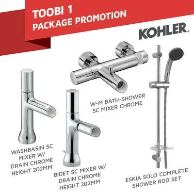 KOHLER: toobi 1 package  promotion