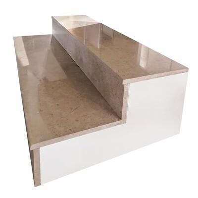 Triesta Marble Steps 120x30x2 & Riser 120x15x2 (BD8.9 Per Step)