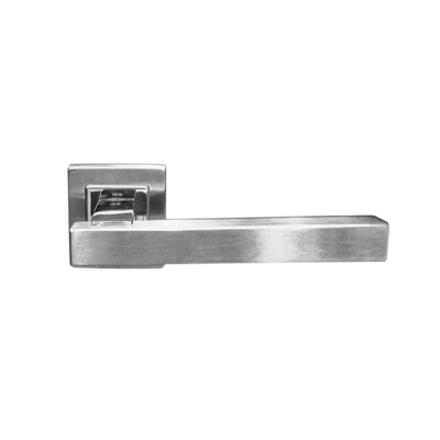 SS Lever Handle on Square Rose