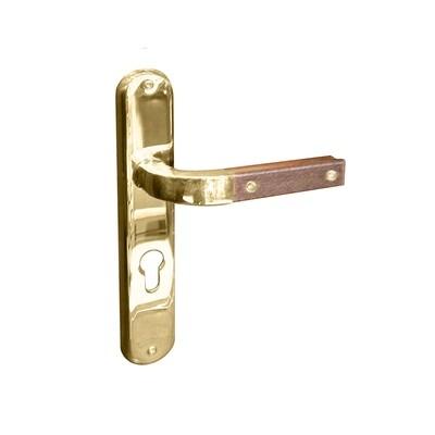 Quadra Lever Handle W/Plate - WPB