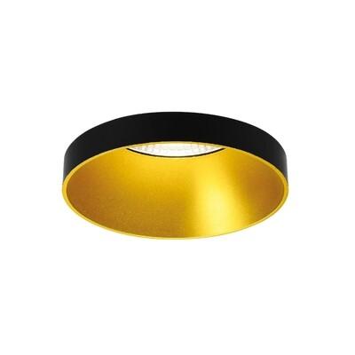 ONOK: Ringo 01 GU 10 Max.10W Black+Gold Spot IP54 *