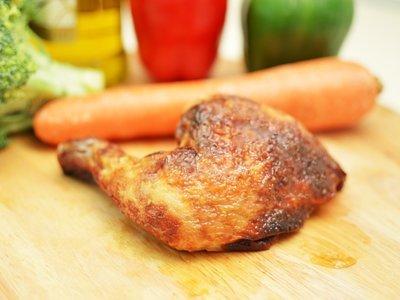 Roasted Quarter Chicken Combo 香烤雞腿套餐