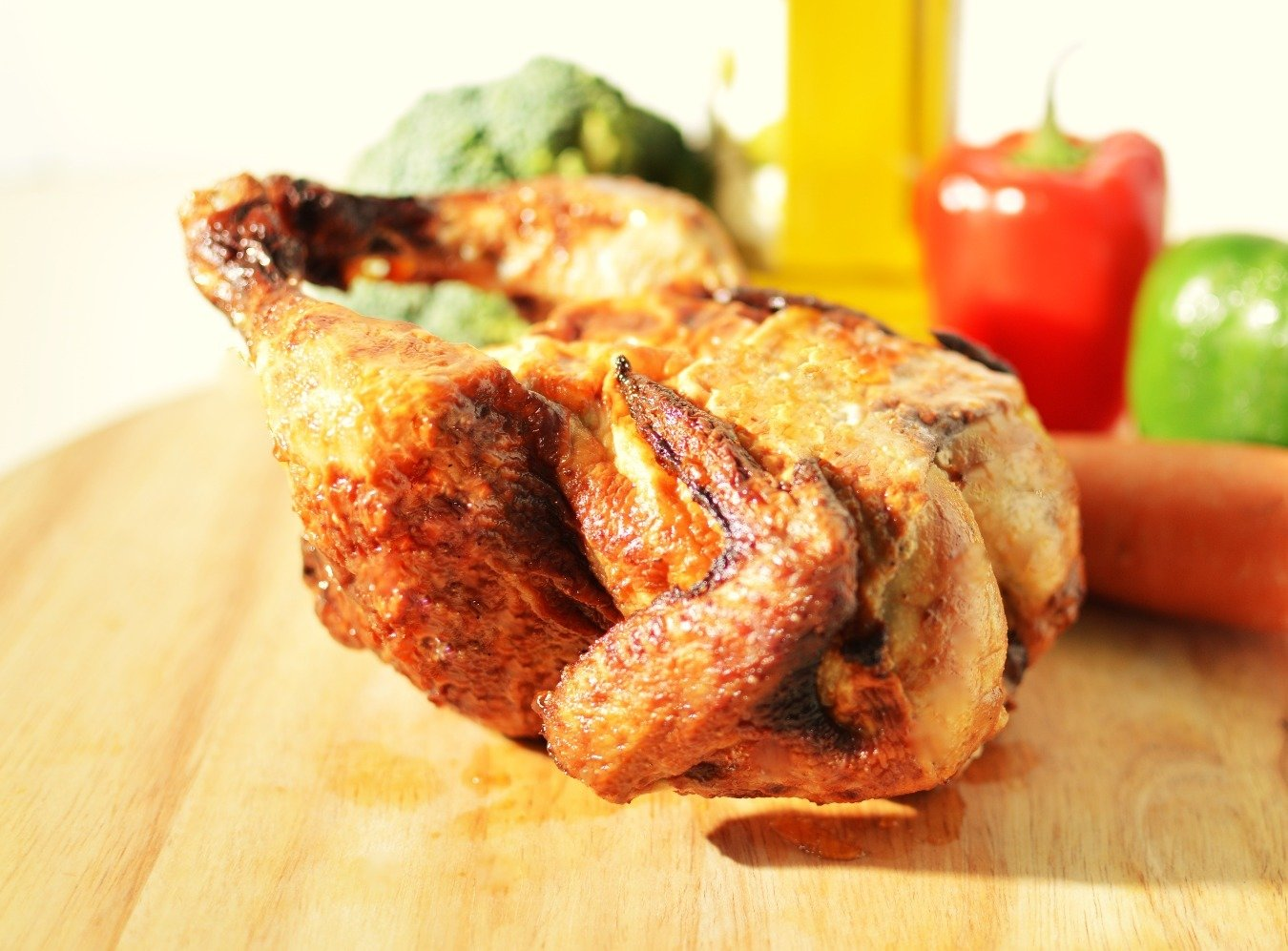 Roasted Whole Chicken Combo 香烤雞全套餐