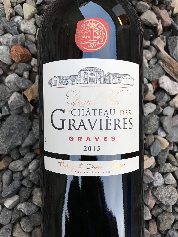 Chateau des Gravieres, Graves 2015 Magnum