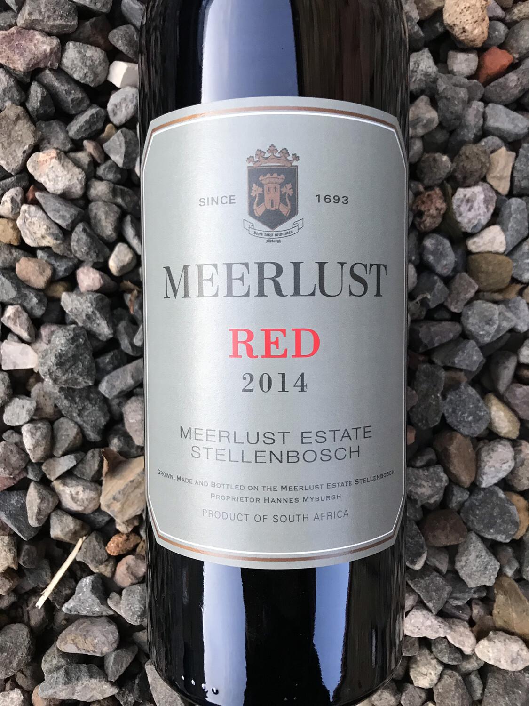 Meerlust Estate Red 2017