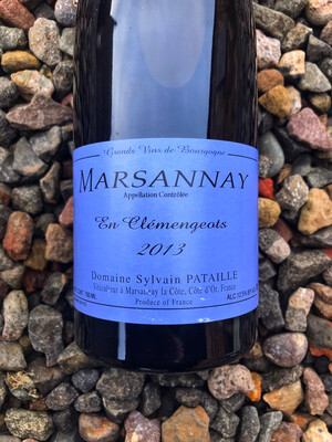 Marsannay ROUGE 'Clemengeots' Sylvain Pataille 2013