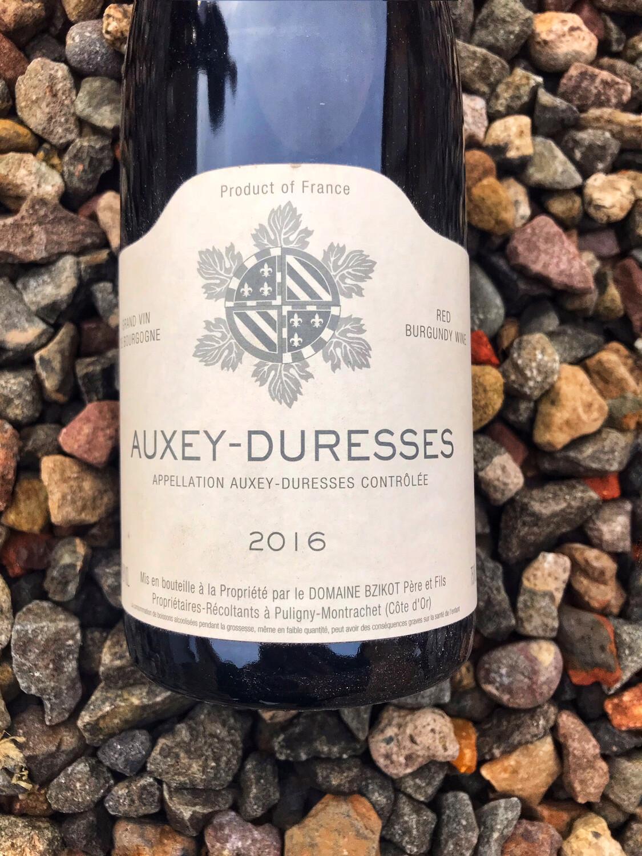 Auxey-Duresses Rouge Domaine Sylvain Bzikot 2016