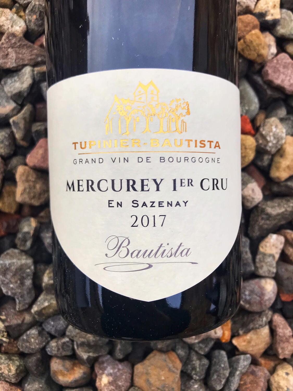 Mercurey 1er Cru 'En Sazenay' Tupinier Bautista 2018