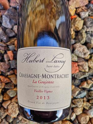 Hubert Lamy Chassagne Montrachet ROUGE La Goujonne 2013
