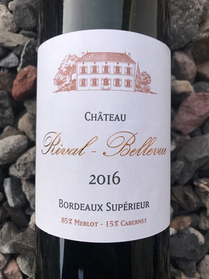 Chateau Rival Bellevue Bordeaux Superior 2017