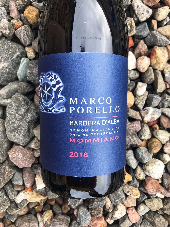 Barbera d'Alba 'Mommiano' Marco Porello, 2018
