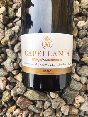 Rioja Reserva Blanco Marques de Murrieta 'Capellania' 2015