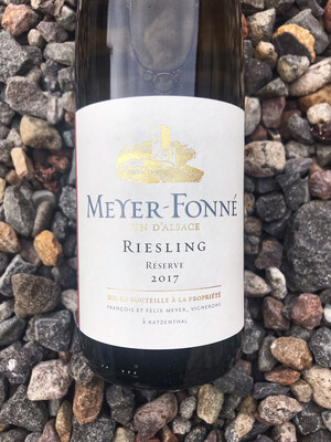 Meyer Fonne Riesling Reserve 2017