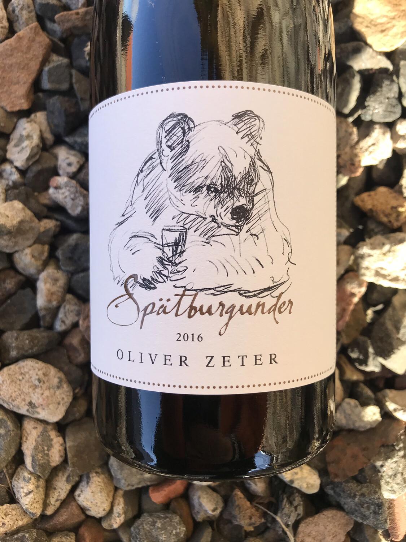 Oliver Zeter Spatburgunder (Pinot Noir) 2016
