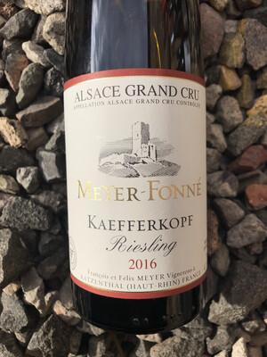 Meyer Fonne Riesling Grand Cru 'Kaefferkopf' 2016