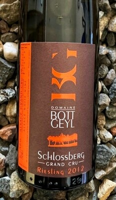 Bott-Geyl Riesling Grand Cru 'Schlossberg' 2012