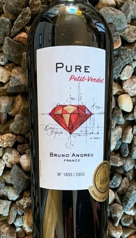 Petit Verdot 'Pure' Bruno Andreu 2017