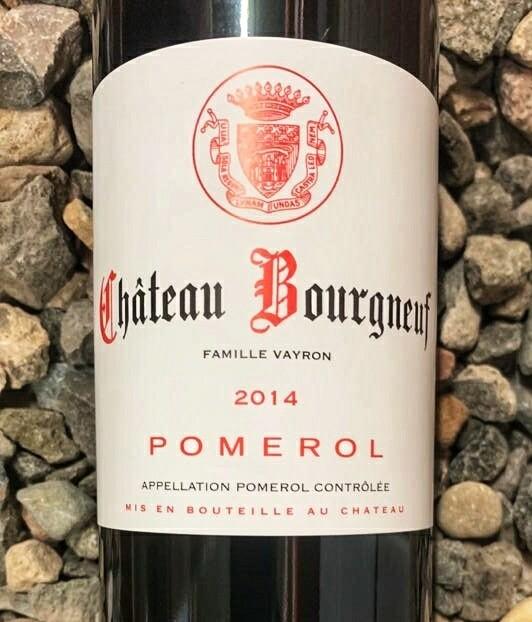 Chateau Bourgneuf 2014 Pomerol