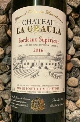 Chateau La Graula Bordeaux Superior 2016