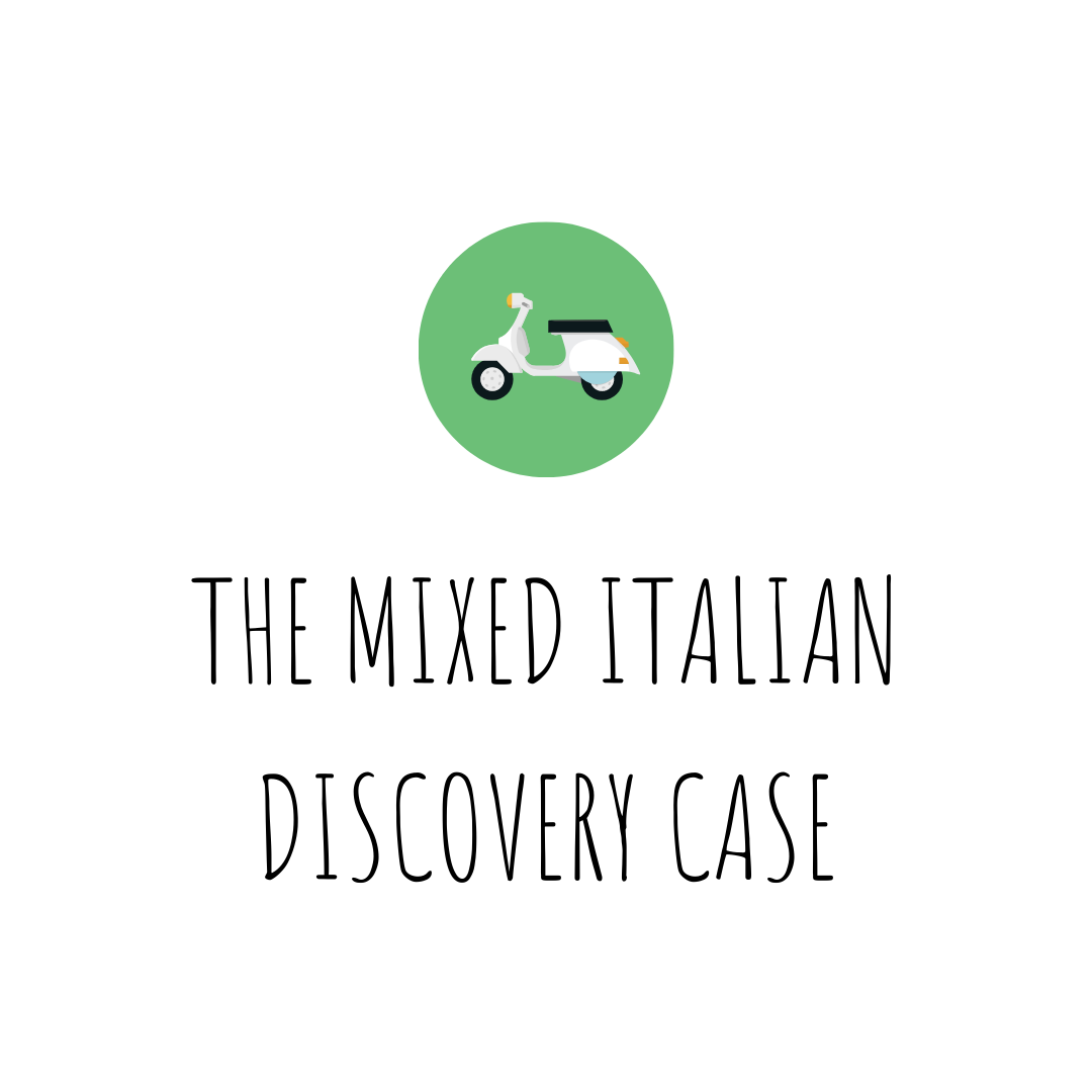 The Mixed Italian Discovery Case