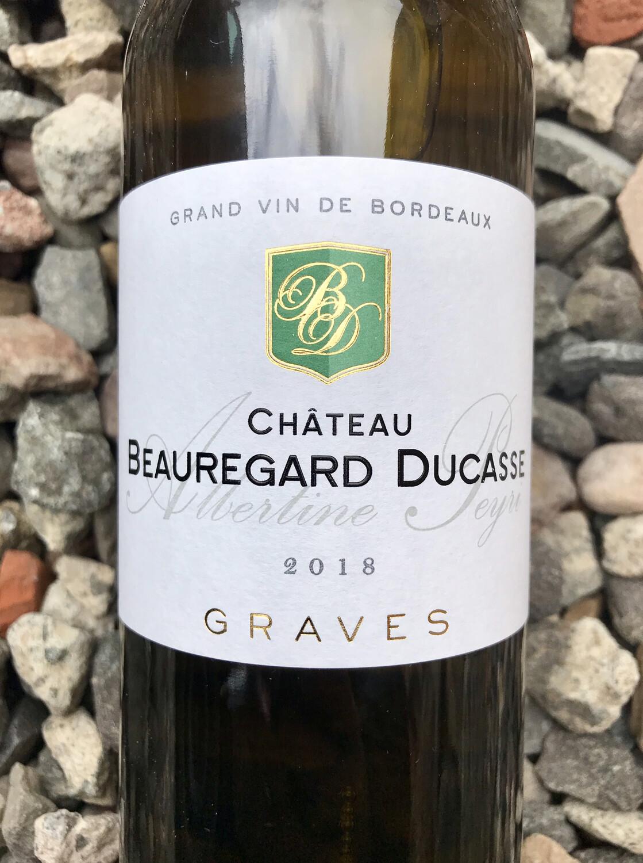 Chateau Beauregard Ducasse 'Cuvee Albertine Peyri' BLANC 2018 Graves