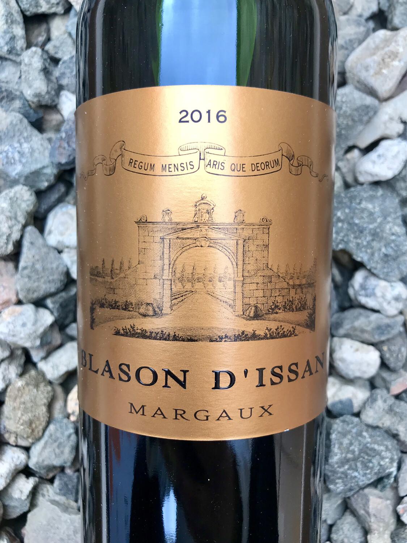 Blason d'Issan 2016 Margaux