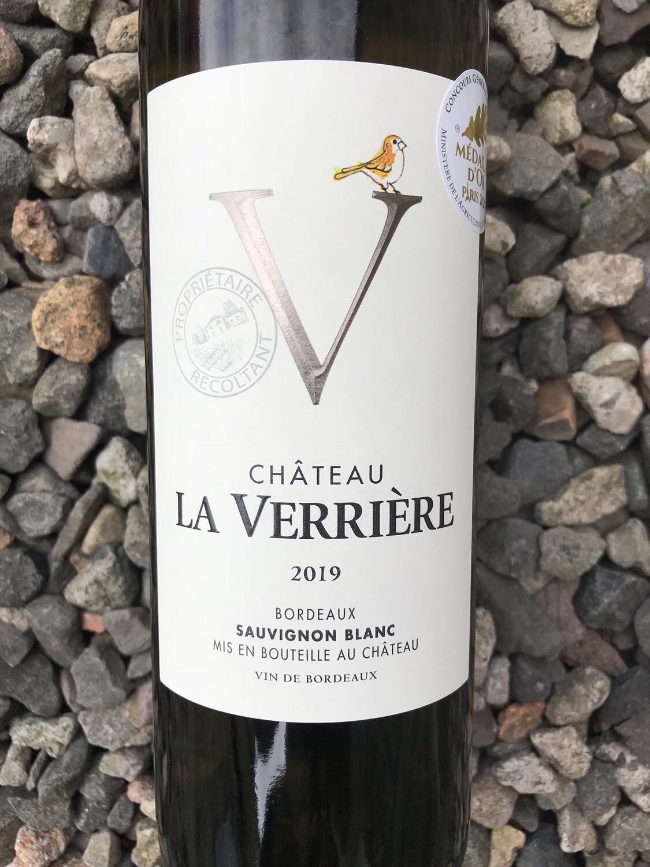 Chateau La Verriere, Sauvignon Blanc 2019