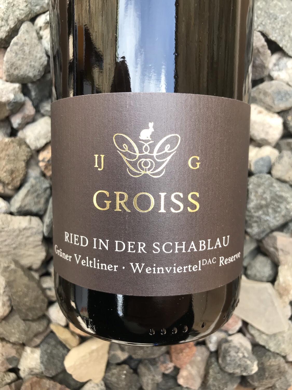 Gruner Veltliner Reserve 'In der Schablau' Ingrid Groiss 2019