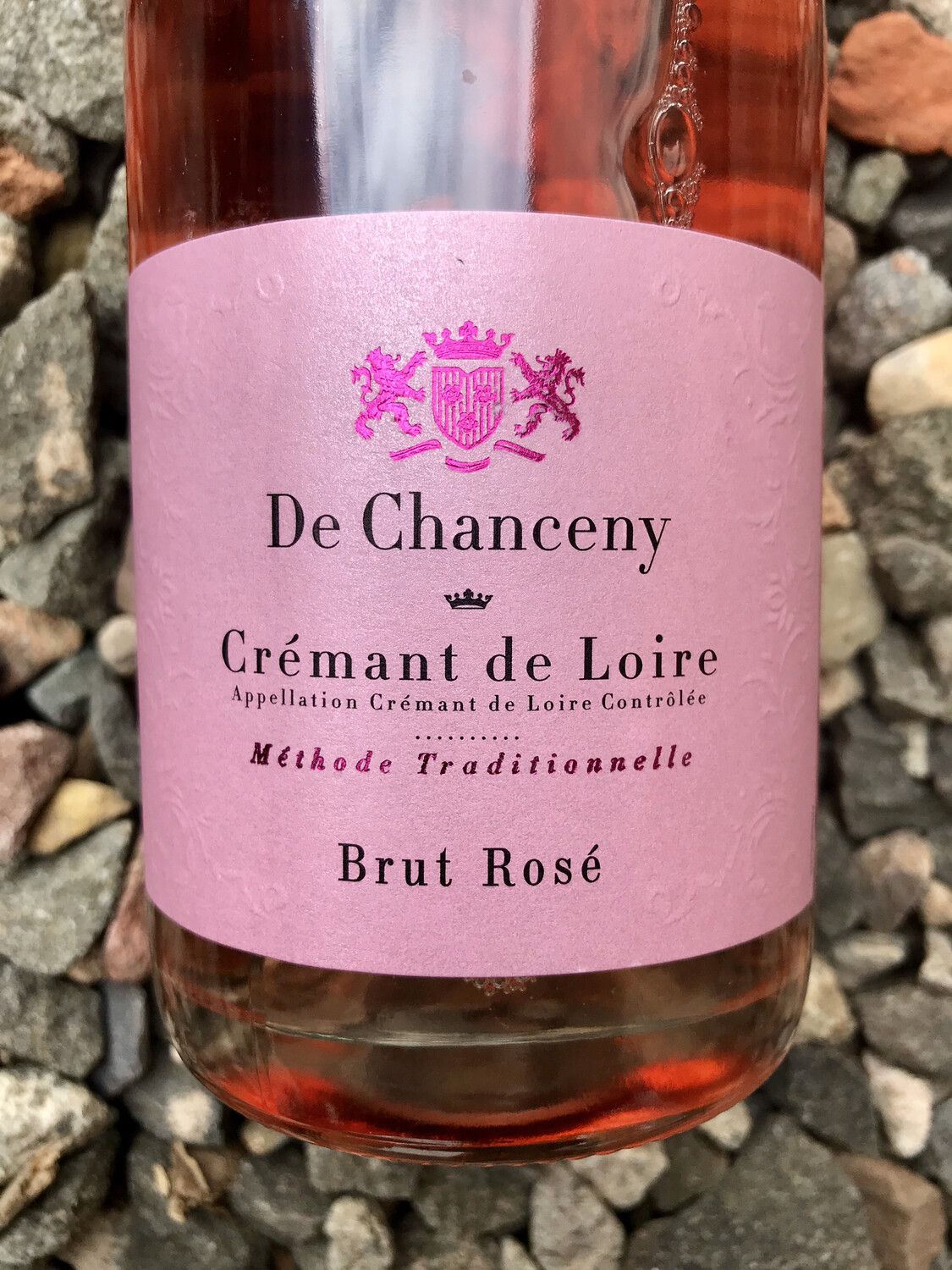 Cremant de Loire 'De Chanceny' Brut Rose NV