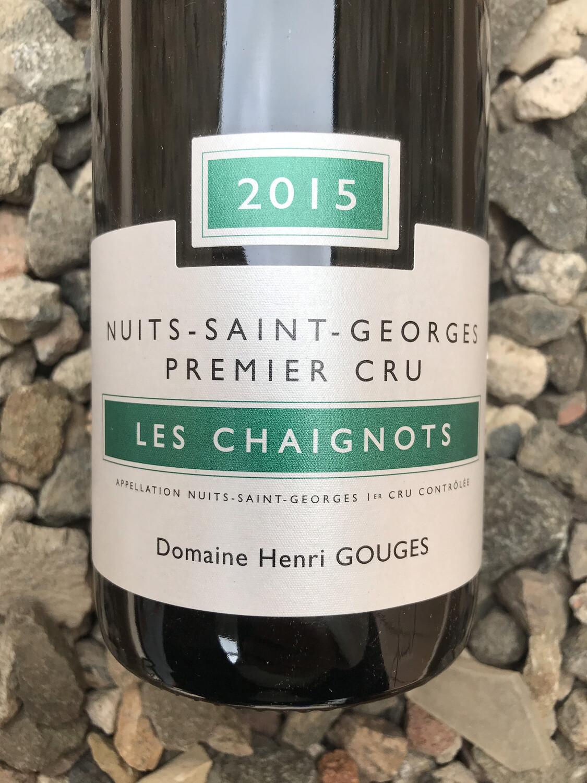 Henri Gouges Nuits St Georges 1er Cru 'Chaignots' 2015