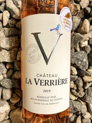 Chateau La Verriere Bordeaux Rose 2020