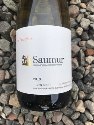 Saumur Blanc Lieu Dit 'Les Pouches' Caves de Saumur 2019
