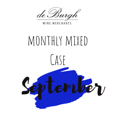 The de Burgh Monthly Mixed Case - September 12x75cl + FREE JAR OF OLIVES!