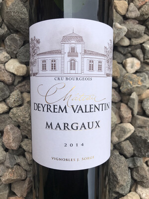 Chateau Deyrem Valentin 2014 Margaux