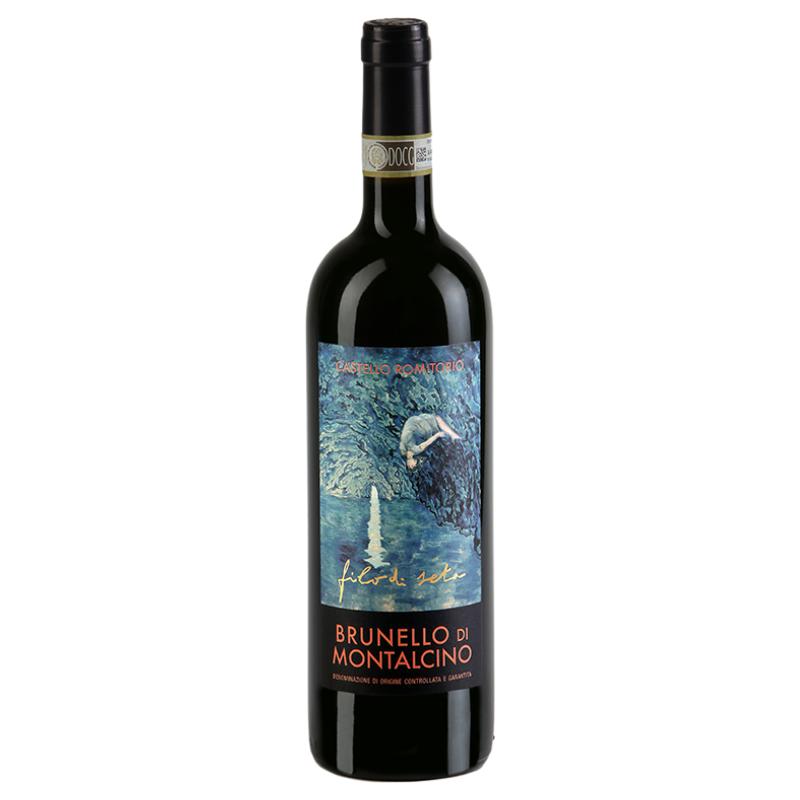 Brunello di Montalcino 'Filo di Seta' Castello Romitorio 2015