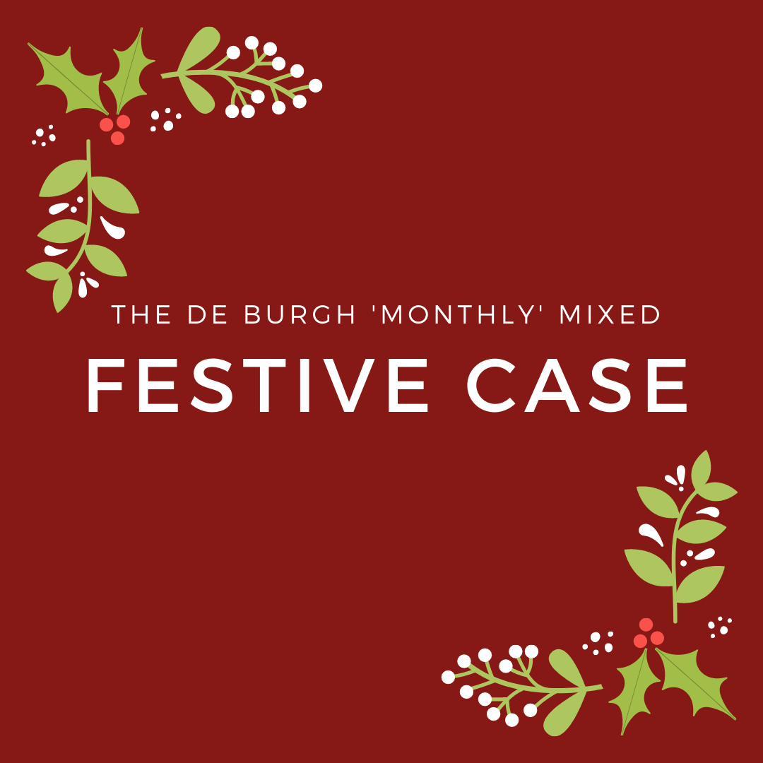 The de Burgh Monthly Mixed Festive Case