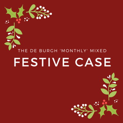 The de Burgh Monthly Mixed Festive Case