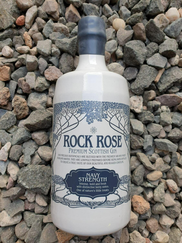 Rock Rose Navy Strength Gin 70cl