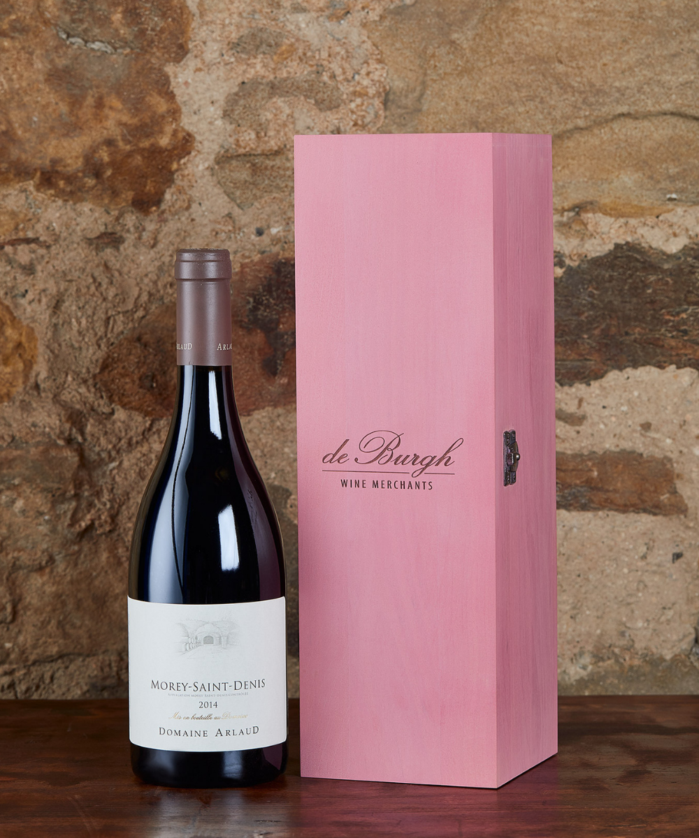 Morey St Denis, Domaine Arlaud 2014 + Wooden Gift Box