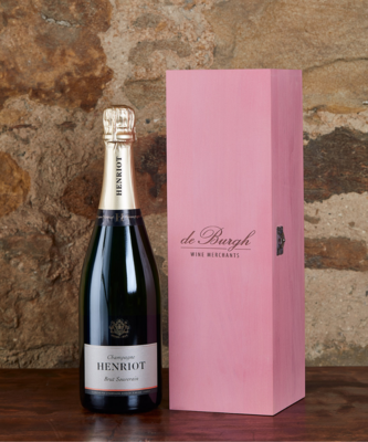Henriot Brut Souverain NV + Wooden Box