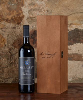 Meerlust Rubicon 2016 + Wooden Gift Box