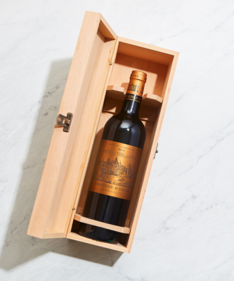 Single Bottle Wooden Wine Gift Box