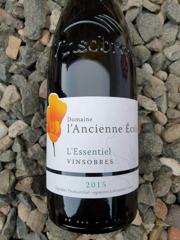 Vinsobres 'L'Essentiel' Domaine l'Ancienne Ecole 2015