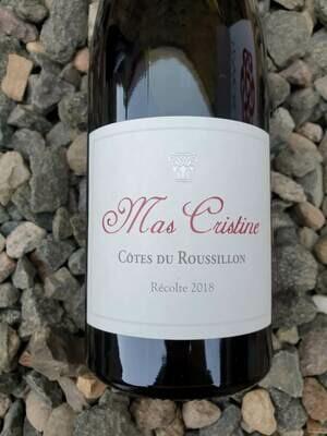 Mas Cristine Cotes du Roussillon Rouge 2018